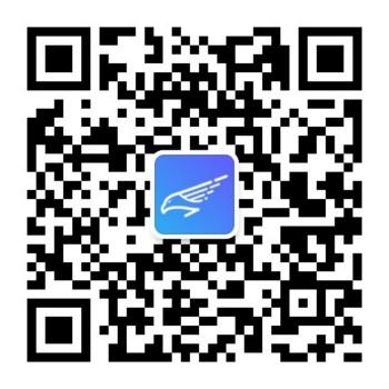 鹰智物流网微信公众号二维码