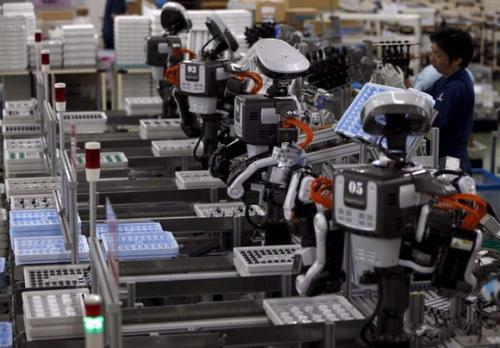未来,机器人将占据物流行业重要位置
